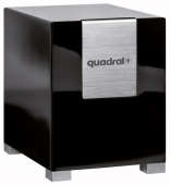 Активный сабвуфер Quadral Qube 10 Active Black (high gloss)